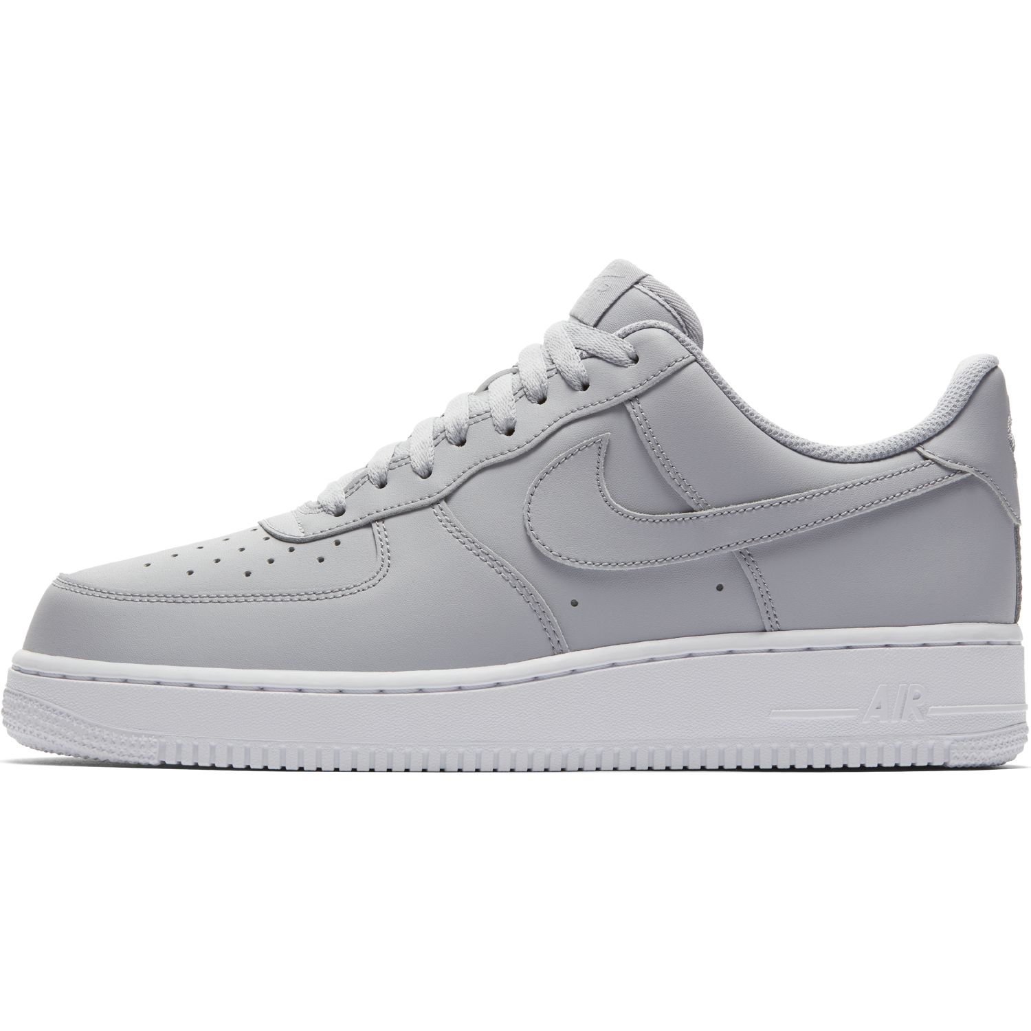 new concept 2d009 6180d ... BUTY MĘSKIE NIKE AIR FORCE 1 07 SZARE AA4083-010 ...