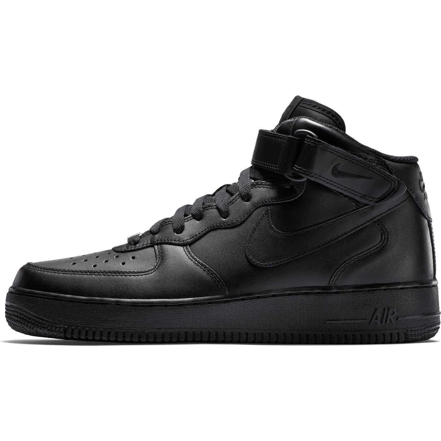 BUTY MĘSKIE NIKE AIR FORCE 1 MID 07 ALL BLACK 315123 001
