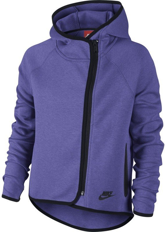 Bluza Nike Tech Fleece FZ Cape Hoody YTH 669804 553