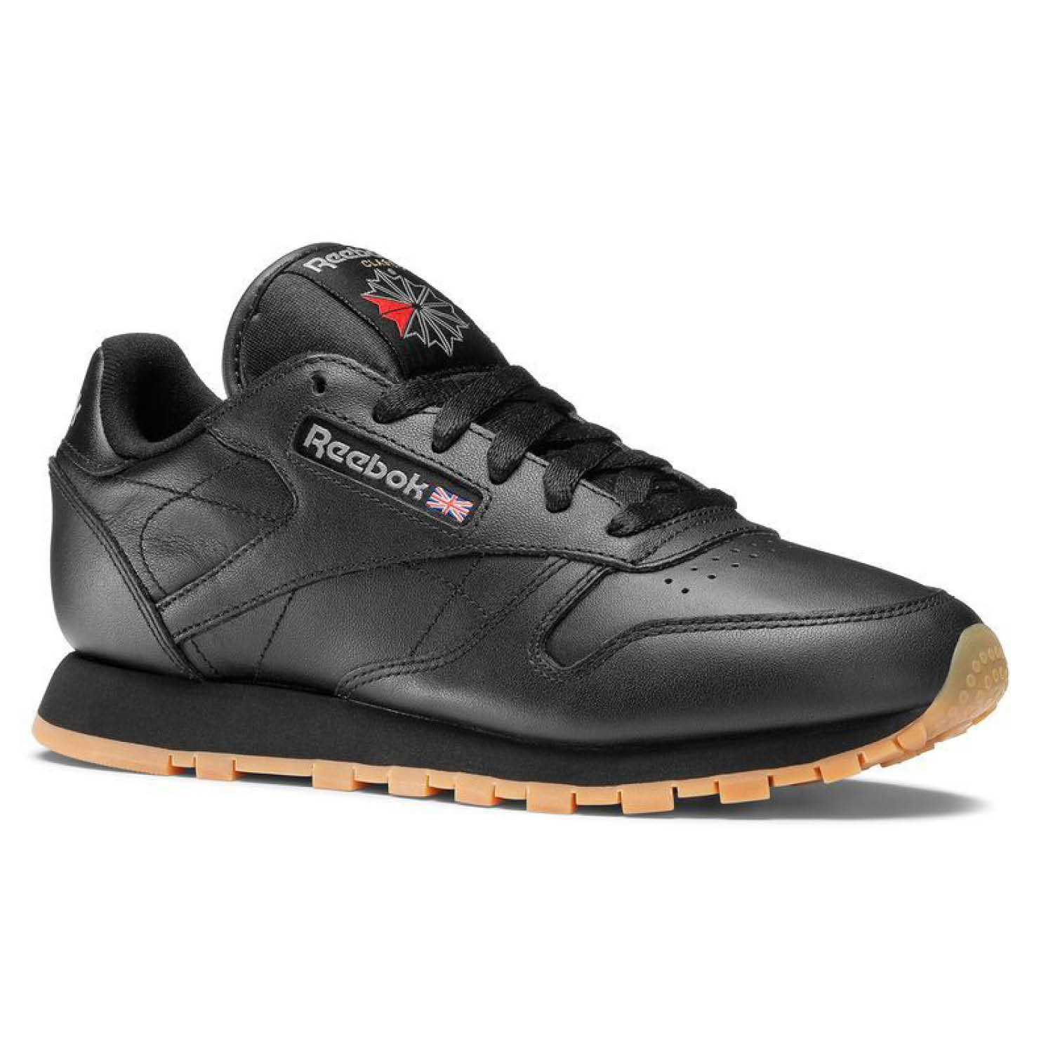 Reebok Classic Leather Black/Gum 49804