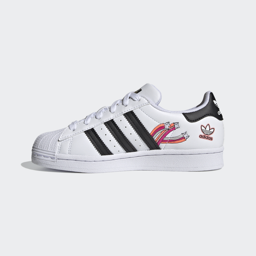 BUTY JUNIOR ADIDAS SUPERSTAR SHOES BIAŁE FX5202