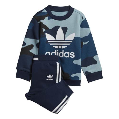 DRES JUNIOR ADIDAS  CREW SET CAMO DW3856