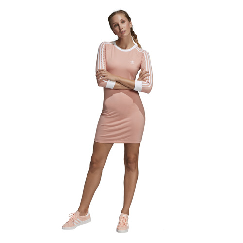 SUKIENKA ADIDAS 3-STRIPES DRESS RÓŻOWA DV2565