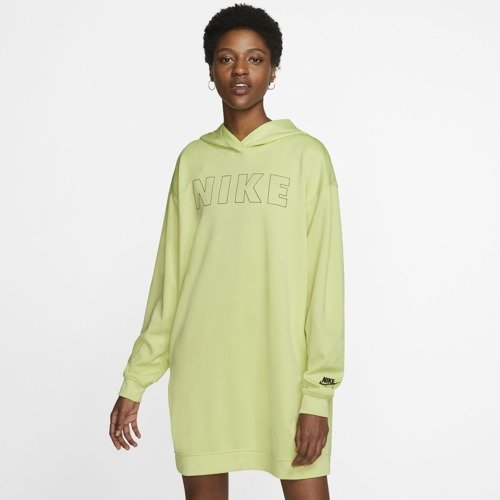 SUKIENKA NIKE NSW AIR HOODIE DRESS ZIELONA CJ3112-367