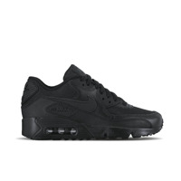 Nike Air Max 90 Mesh (GS) All Black 833418 001